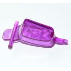 Bouton vapeur violet