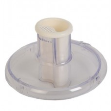 Couvercle de centrifugeuse avec poussoir