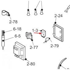 Minuterie de dégivrage ND1004M2 (rep. 1-3)