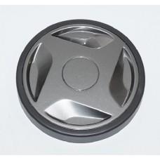 Roue + enjoliveur gris Diam.15cm