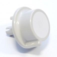 Bouton blanc de minuterie