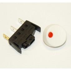 Interrupteur + bouton blanc