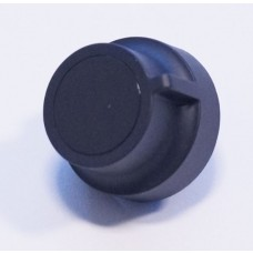Bouton noir de minuterie