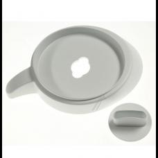 Couvercle blanc avec joint pour blender Soup&Co