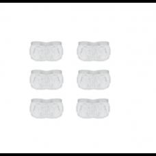Lot de 6 bonnettes