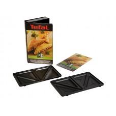 Lot de deux plaques croque-monsieur Tefal XA800212