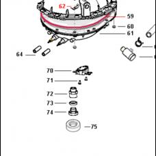 Joint de bouchon de vidange (repère 73)