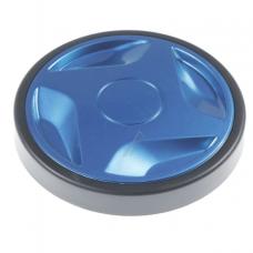 Roue arrière bleue pour aspirateur