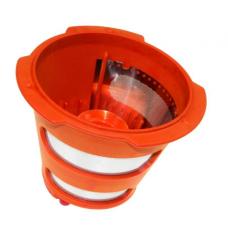 Filtre orange fin pour extracteur de jus
