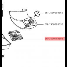 Carte électronique avec afficheur
