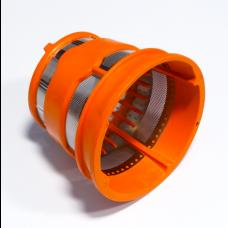 Filtre grille orange pour extracteur de jus