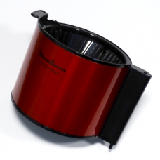 Porte-filtre rouge avec clapet
