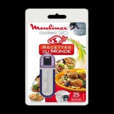 Clé USB 25 recettes du monde pour Cookeo