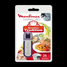 Clé USB 25 recettes tradition pour Cookeo