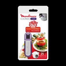Clé USB 25 recettes fraîcheur pour Cookeo