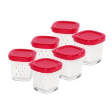 Lot de 6 pots pour yaourtière multi délices express