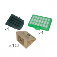 Kit filtre aspirateur Power Space ZR007001