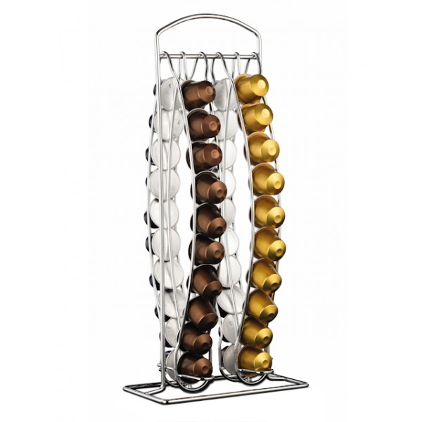 support fixe 40 capsules nespresso xb301000 krups. Black Bedroom Furniture Sets. Home Design Ideas