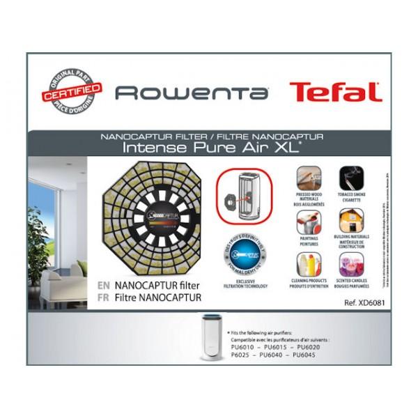 Filtre Nanocaptur XD6081F0 Rowenta