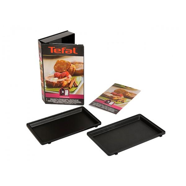 Lot de deux plaques pain perdu Tefal XA800912